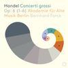 Akademie fur Alte Musik Berlin - Handel: Concerti grossi, Op. 6 Nos. 1-6 -  DSD (Single Rate) 2.8MHz/64fs Download