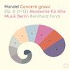 Akademie fur Alte Musik Berlin - Handel: 12 Concerti grossi, Op. 6 Nos. 7-12 -  DSD (Single Rate) 2.8MHz/64fs Download