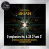 New Russia State Symphony Orchestra - Brian: Symphonies Nos. 6, 28, 29 & 31 -  FLAC 192kHz/24bit Download