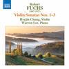 Hyejin Chung - Fuchs: Violin Sonatas Nos. 1-3 -  FLAC 192kHz/24bit Download