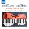 Haoli Lin - C. & R. Schumann: Music for Violin & Piano -  FLAC 96kHz/24bit Download