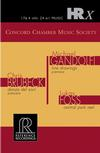 The Concord Chamber Music Society - Brubeck and Gandolfi
