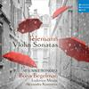 Boris Begelman - Telemann: Violin Sonatas -  FLAC 96kHz/24bit Download