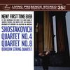 Borodin Quartet - Shostakovich: Quartet No.4; Quartet No.8 -  FLAC 96kHz/24bit Download