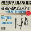 Marty Brill & Larry Foster - James Blonde - The Man From T.A.N.T.E. -  Sealed Out-of-Print Vinyl Record