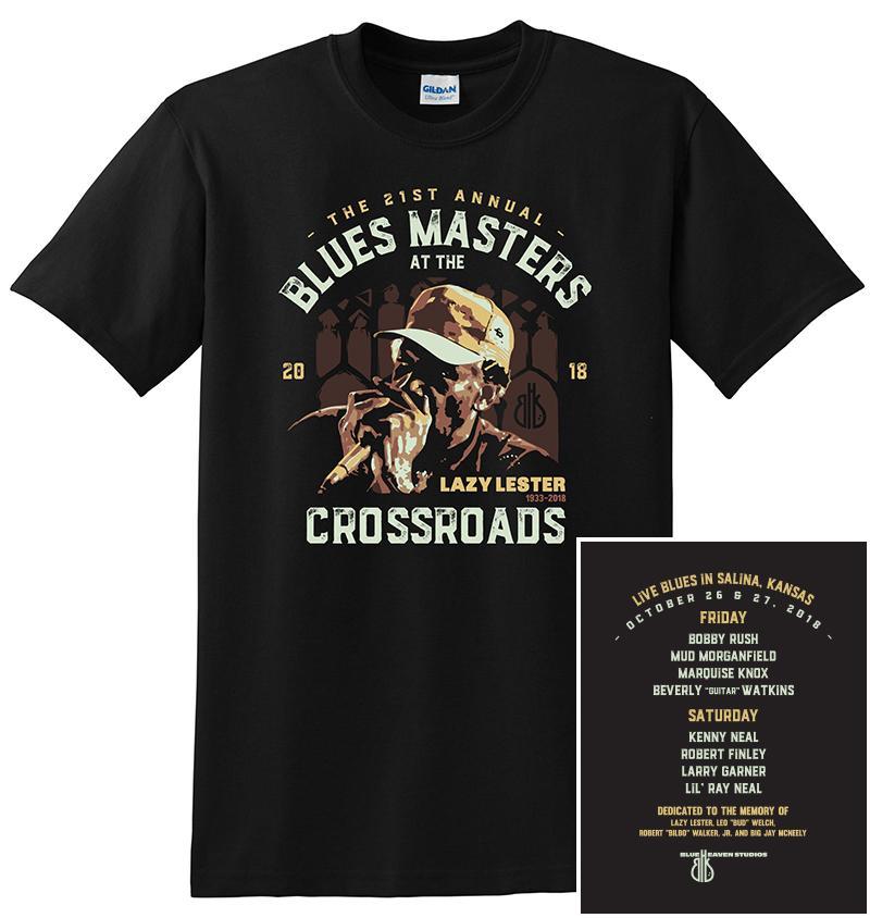 Blue Heaven Studios - Blues Masters Concert 2018 T-Shirt