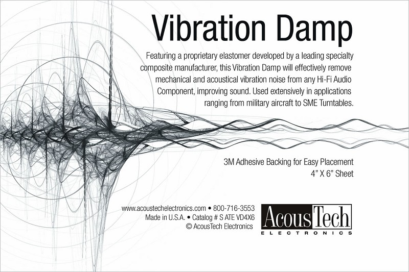 AcousTech - Vibration Dampening Material