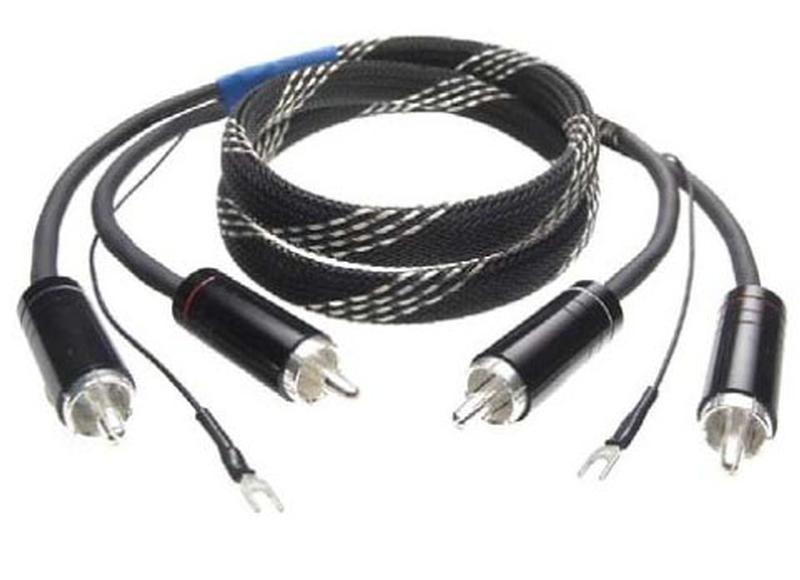 Pro-Ject - 1.23M RCA to RCA CC Tonearm Cable with Ground Wire