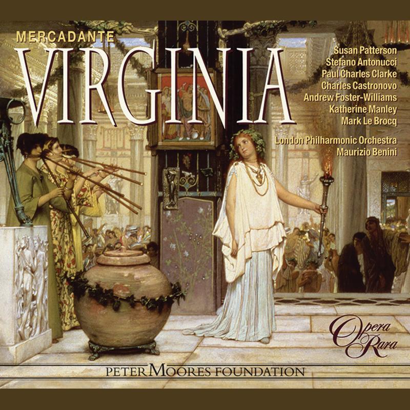 Maurizio Benini - Mercadante: Virginia